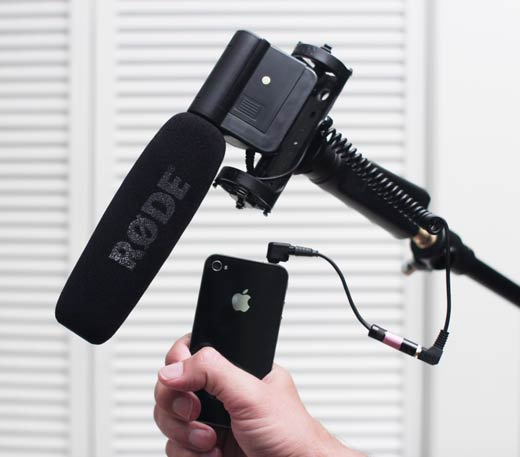 iPhone 4 as audio recorder with external mic: a comparison