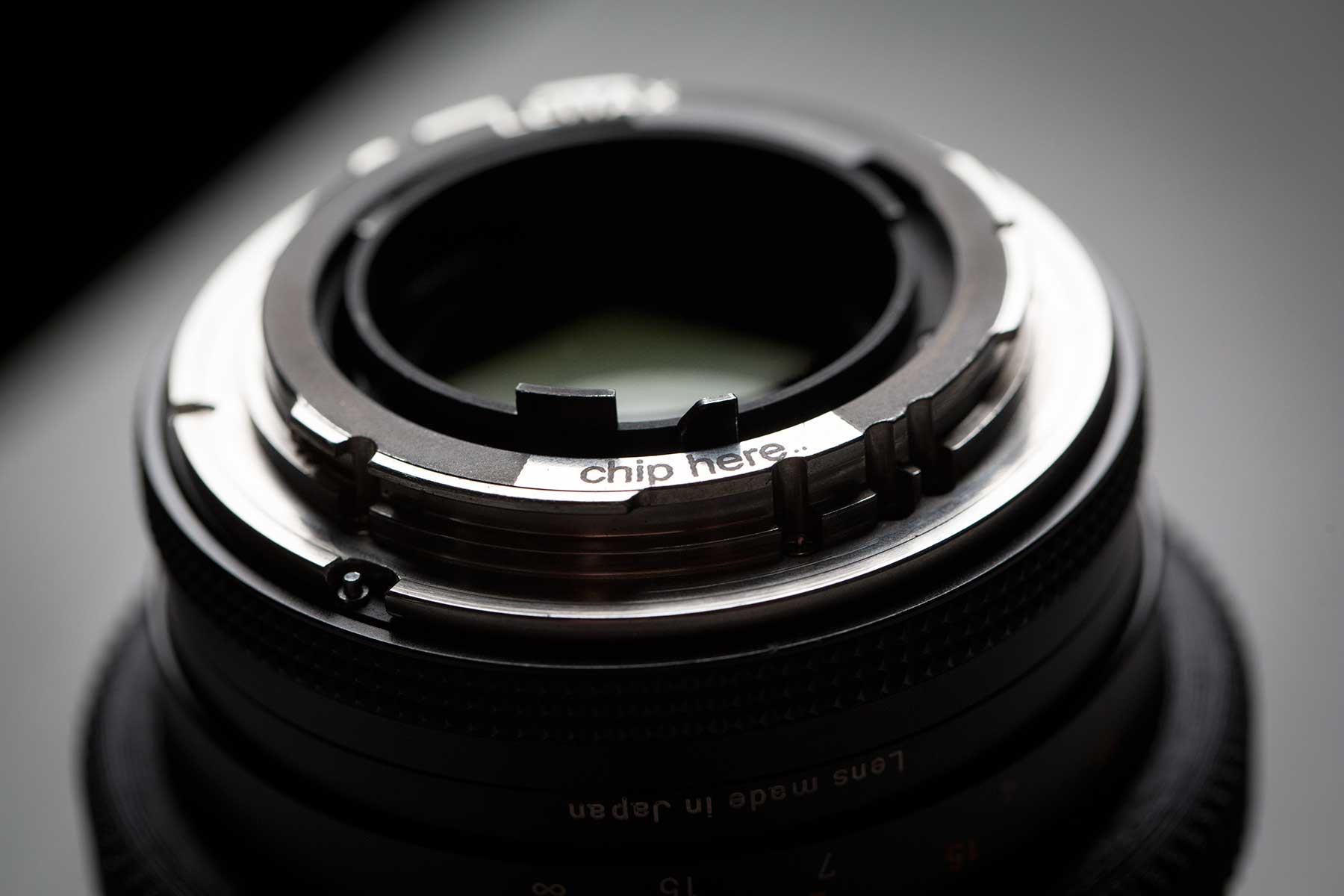 One way to modify Contax Zeiss lenses to work with Metabones