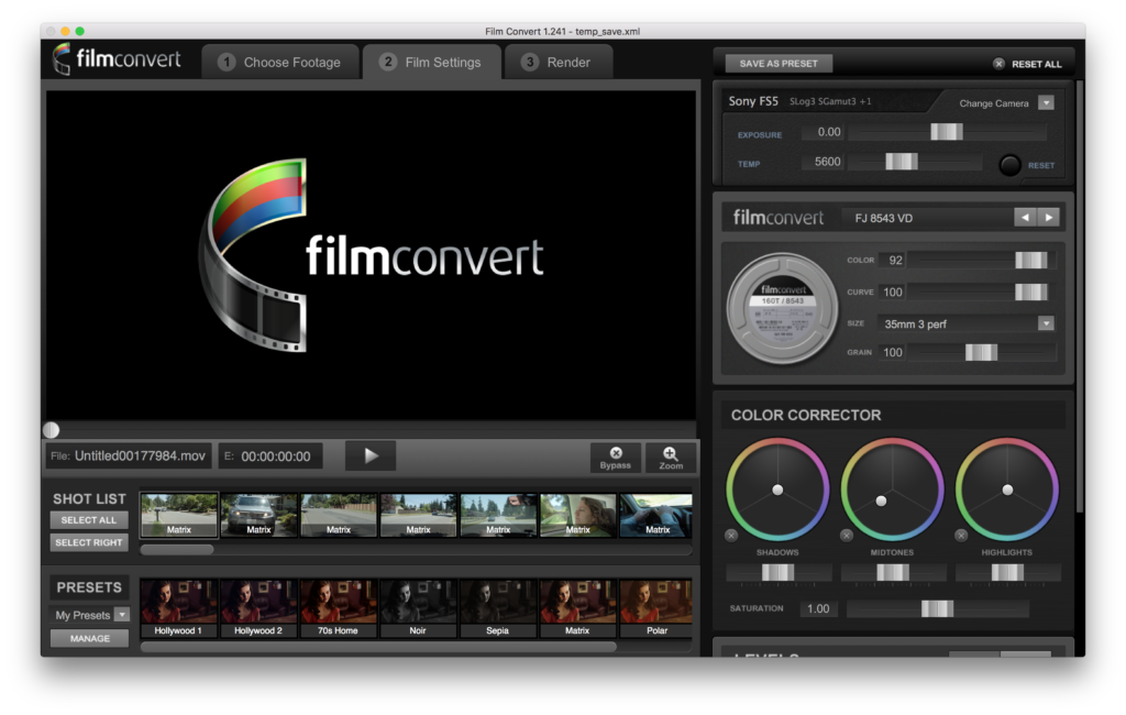 film convert standalone app
