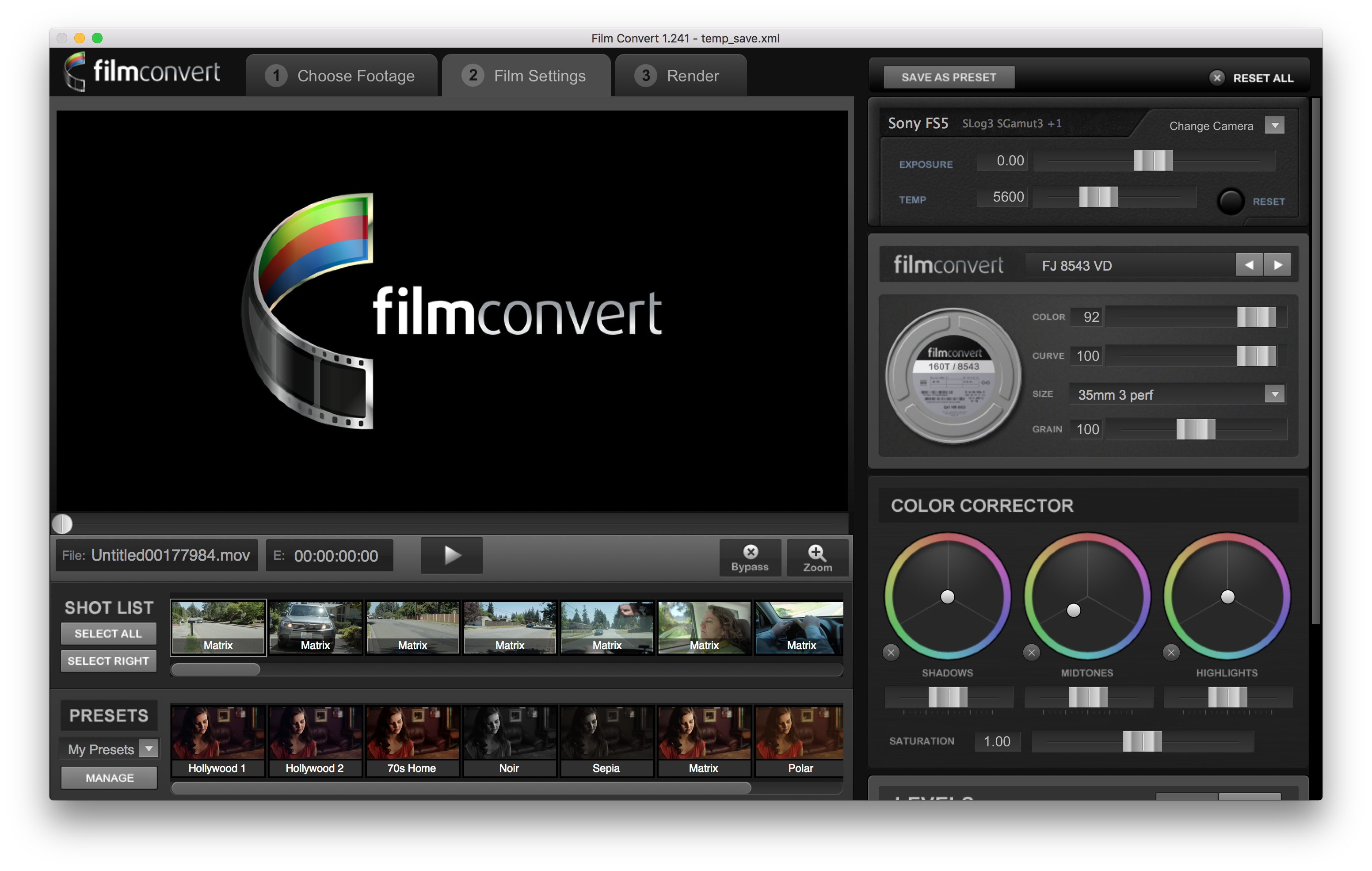 Image result for film convert software logo