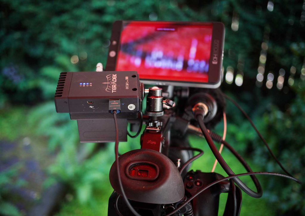 Teradek 300 HDMI wireless video transmitter