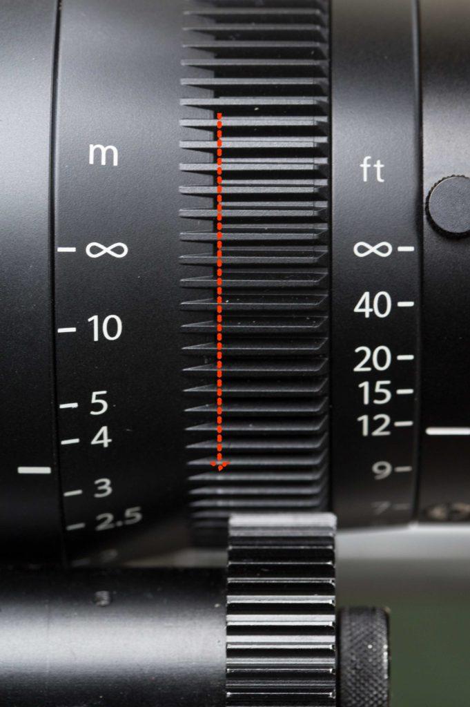 focus gear inset