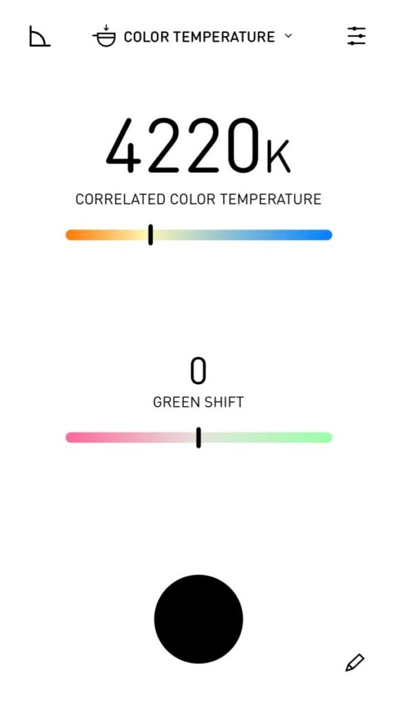 Lumu color mode