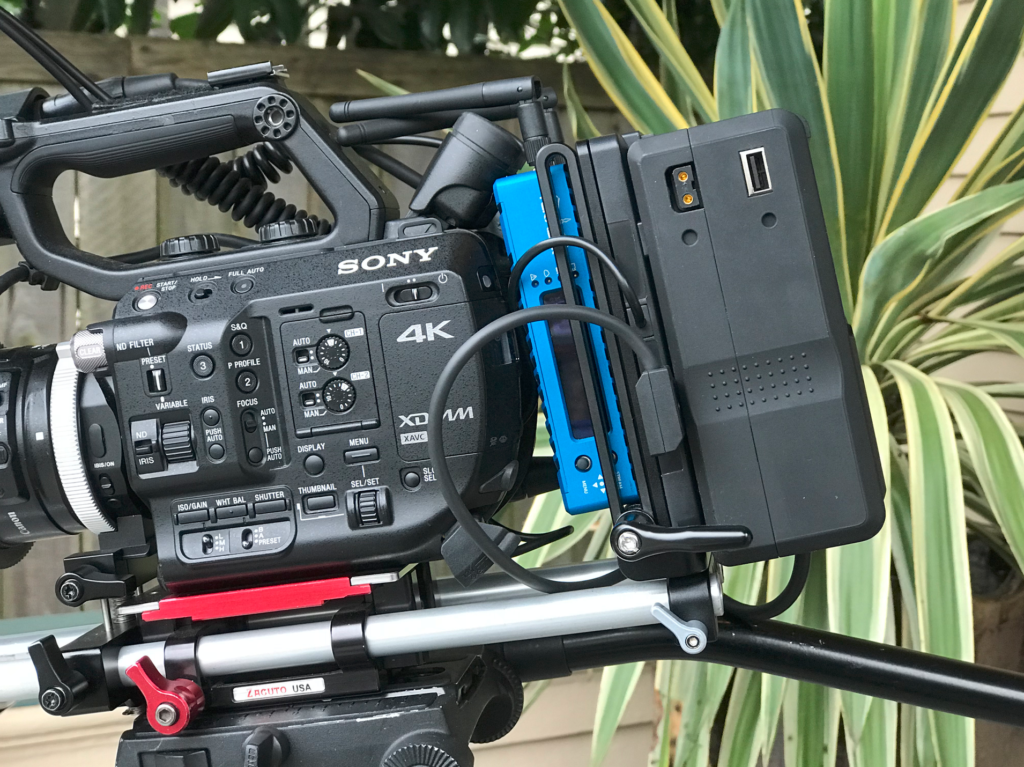 Wooden Camera battery plate for Sony FS5