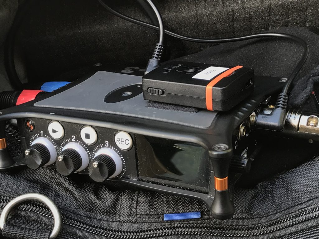 Tentacle sync and sound devices mixpre 3